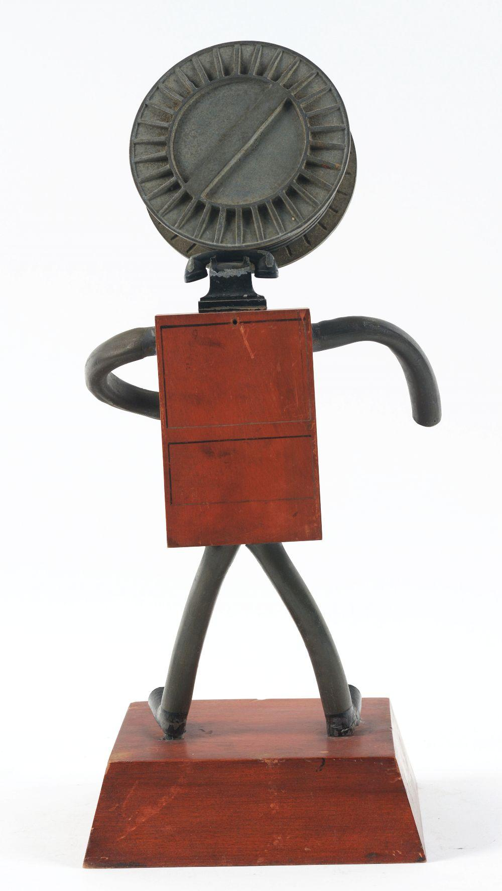 Lot 2590: Western Electric Advertising Figure.