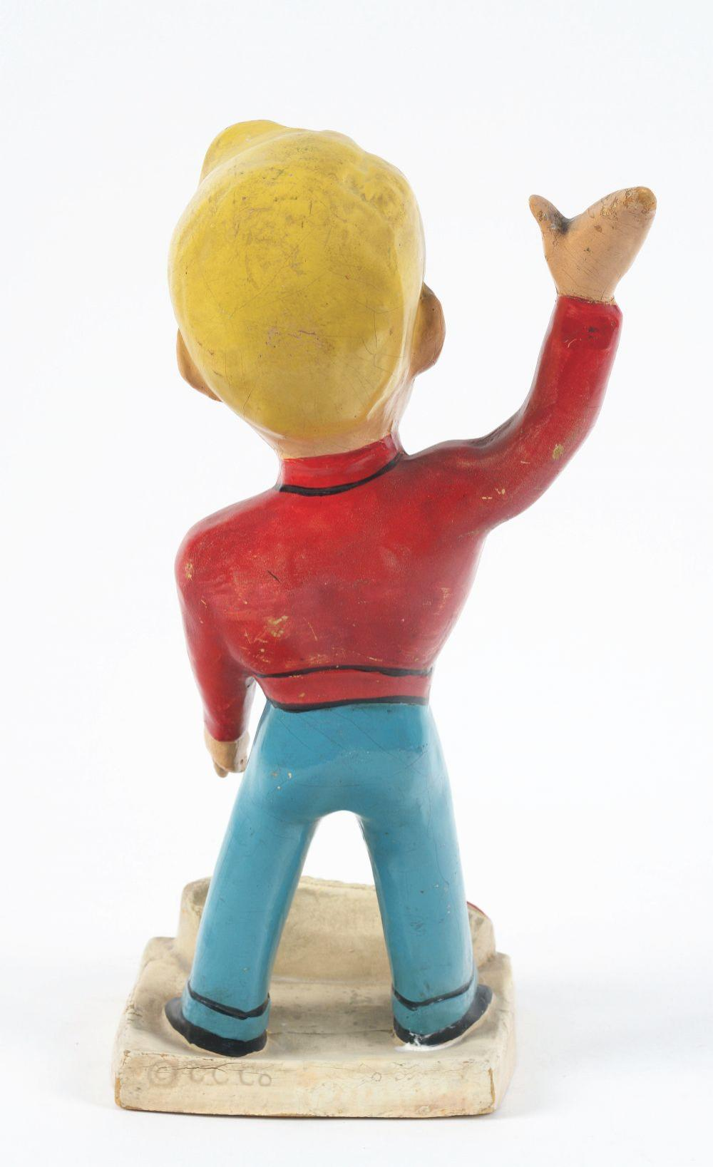 Lot 2605: Baby Ruth Advertising Figure.