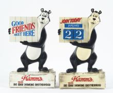 Lot 2611: Lot of 8: Hamm's Advertising Figures.