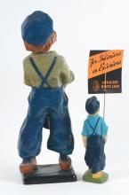 Lot 2620: Lot of 2: Dutch Boy Advertising Figures.