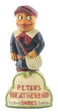 Lot 2648: Peters Weatherbird Advertising Figure.