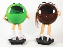 Lot 2666: Lot of 6: Advertising Figures - M&M People.