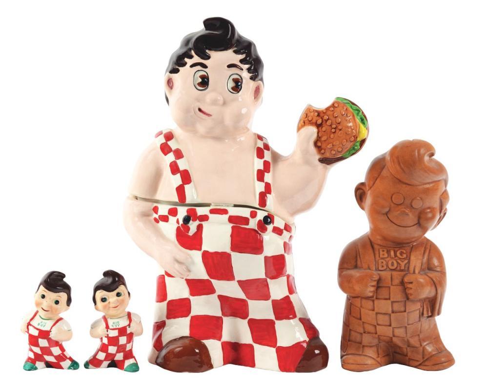 Lot 2692: Lot of 5: Big Boy Advertising Figures.