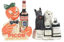 Lot 2683: Lot of 2: Advertising Figures - Black & White, Picon.