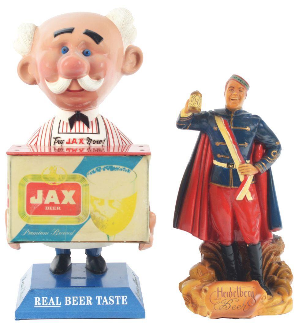 Lot 2709: Lot of 2: Advertising Figures - Heidelberg, Jax.
