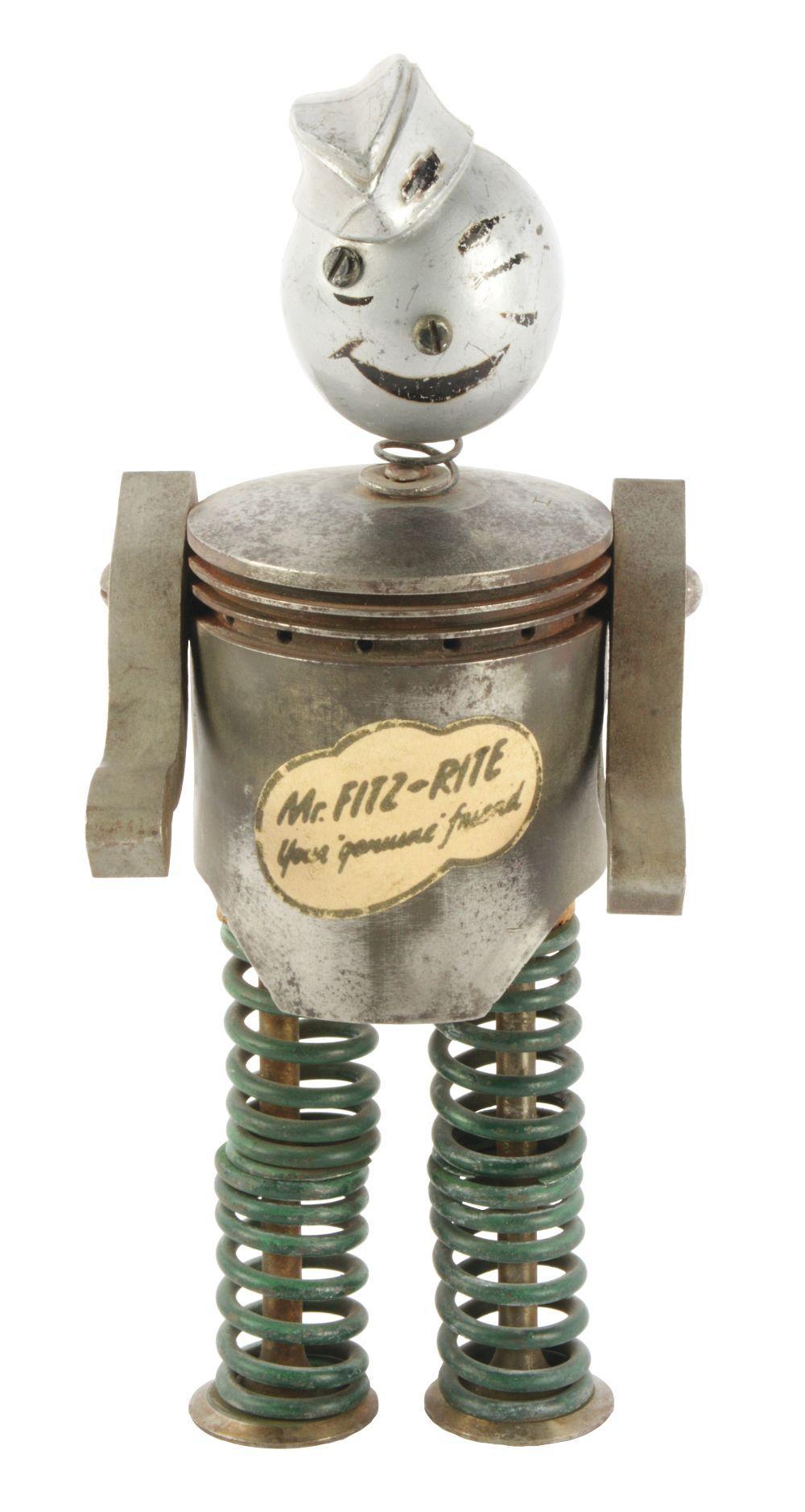 Lot 2720: Mr. Fitz-Rite Advertising Figure.