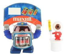 Lot 2719: Lot of 2: Advertising Figures - Nikon & Maxell.