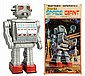 Tin Litho Battery-Operated Super Space Giant.