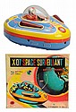 Tin Litho Battery-Operated X07 Space Surveillant.