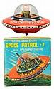 Tin Litho Friction Space Patrol-7.