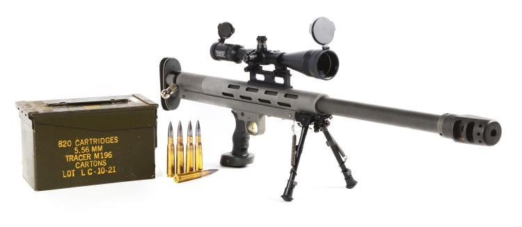 M Lar Grizzly Big Boar 50 Bmg Single Shot Target Rifle Wi