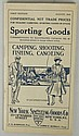 1910 NY Sporting Goods Wholesale Price List.