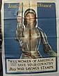 World War I Joan of Arc Poster.