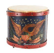 Civil War Period American Drum.