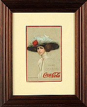 1910 Coca-Cola Post Card.