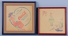 C.1910-12 Coca-Cola Rice Paper Napkins.