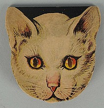 1930's Coca-Cola German Made Cat Pocket Mirror.