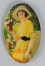 1920 Coca-Cola Pocket Mirror.