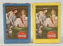 Lot of 2: 1943 Coca-Cola Card Decks.