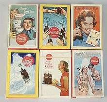 Lot of 6: Unopened & Sealed Coca-Cola Card Decks.