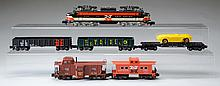 American Flyer 499 New Haven Electric Loco & Cars