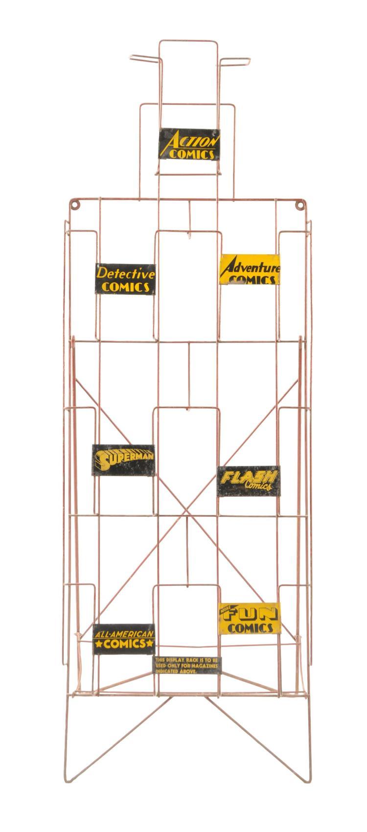 Amazing Dc Store Display Comic Book Rack