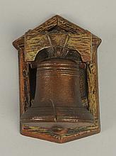 Cast Iron Liberty Bell Doorknocker.