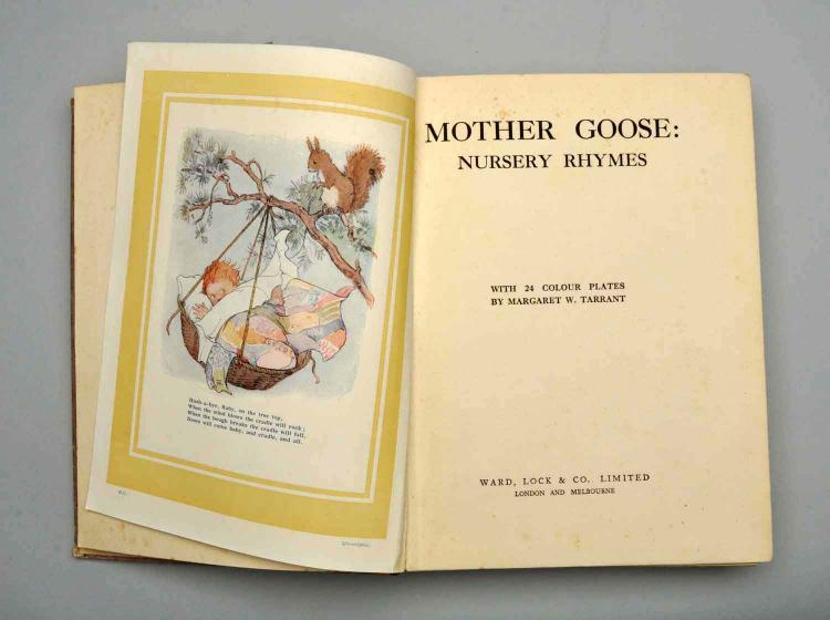 Mother Goose Nursery Rhymes - Color Illustrations.