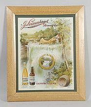 Leinenkugel Brewing Co. Advertising Sign.