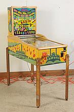 1948 Exhibits Banjo Pinball Machine.