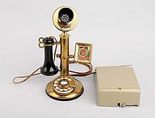 Brass Candlestick Phone.
