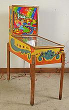 1952 Williams Caravan Pinball Machine.