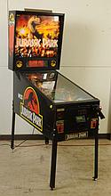 1993 Data East Jurassic Park Pinball Machine.