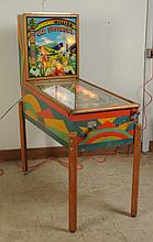 1949 Gottlieb Faithful Pinball Machine.