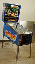 1989 Earth Shaker Pinball Machine.