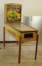 1948 Gottlieb Jack & Jill Pinball Machine.