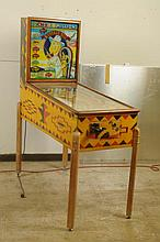 1950 D. Gottlieb Buffalo Bill Pinball Machine.