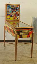 1954 4 Belles D. Gottlieb & Co. Pinball Machine.