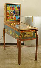 1954 D. Gottlieb Diamond Lill Pinball Machine.