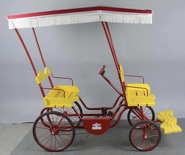 Gym Dandy Pedal Surrey With Fringe On Top