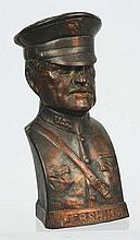 Cast Iron General Pershing Still Bank.