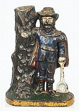 Cast Iron Captain Kidd Still Bank.