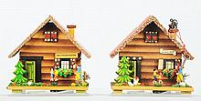 Lot of 2: Cottage Savings Banks.