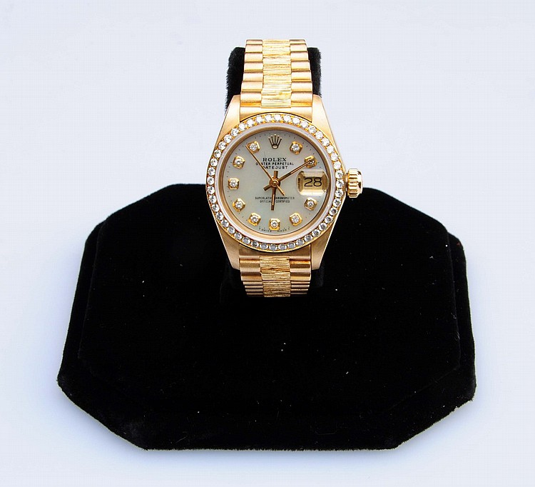 a s and 18kt gold rolex