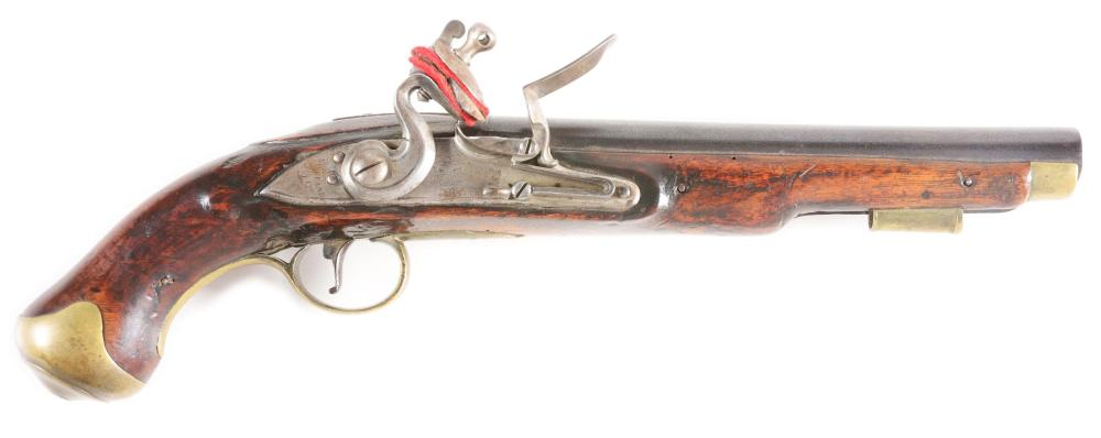 (A) A GOOD BRITISH FLINTLOCK LIGHT DRAGOON PISTOL, LOCK MARKED CROWN OVER GR, BY KETLAND AND COMPANY.