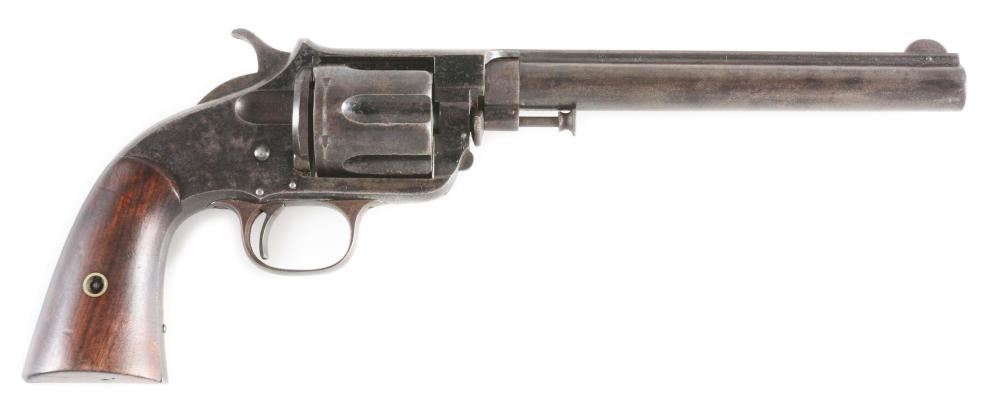 (A) EXTREMELY RARE FOREHAND & WADSWORTH OLD ARMY REVOLVER WITH BEAR MARKING.