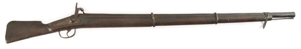 (A) A MASSIVE AND UNUSUAL COMPOSITE SINGLE SHOT PERCUSSION PUNT OR RAIL GUN OF UNCERTAIN ORIGIN.