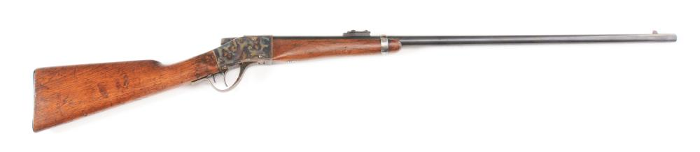 (A) BROWNING BROTHERS UT MARKED SHARPS 1878 FALLING BLOCK SINGLE SHOT RIFLE.