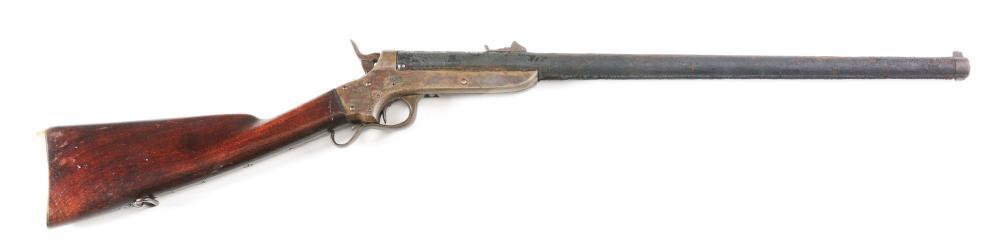 (A) CIVIL WAR SHARPS & HANKINS MODEL 1862 NAVY CARBINE.