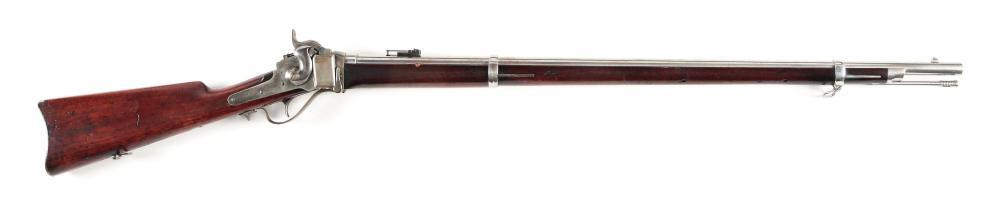 (A) NEAR NEW US MODEL 1870 SPRINGFIELD-SHARPS RIFLE.